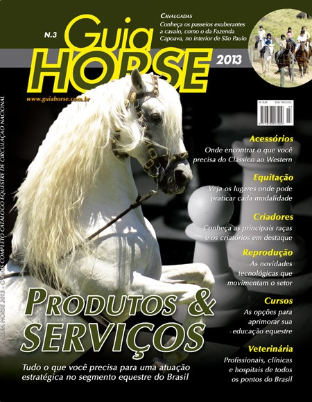 Sabre Interagro é capa do Guia Horse 2013