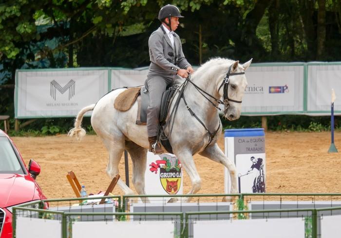 Eros Interagro estreia na Equitação de Trabalho