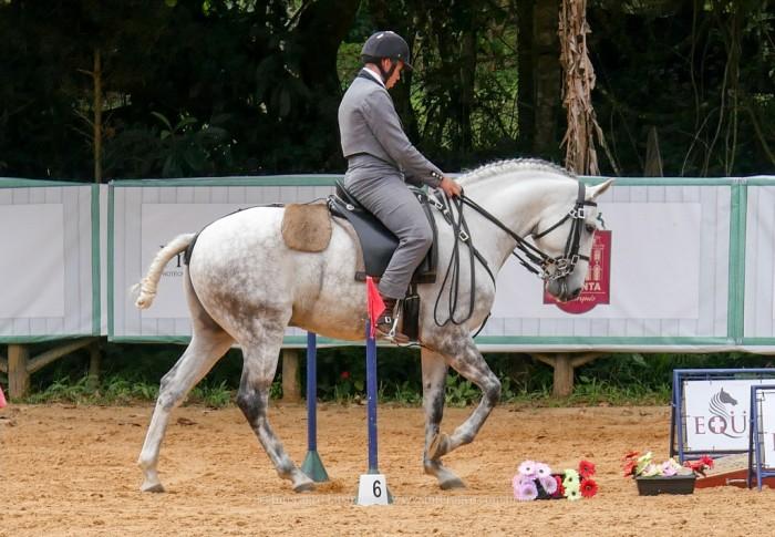 Feitor Interagro e Alexandre Souza em 3o lugar na Equitação de Trabalho Categoria Preliminar
