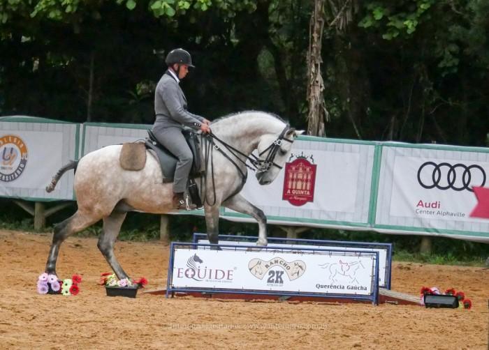 Hector Interagro & Alexandre Souza, vencedores da Categoria Cavalos Novos A na 2a etapa do Campeonato Brasileiro de Equitação de Trabalho