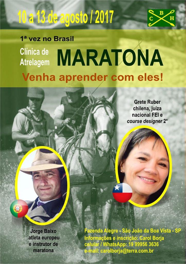 Clínica de Atrelagem (Maratona)