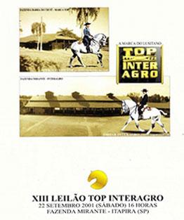 2001 - II Leilão de Potros & Leilão Coleçao Interagro