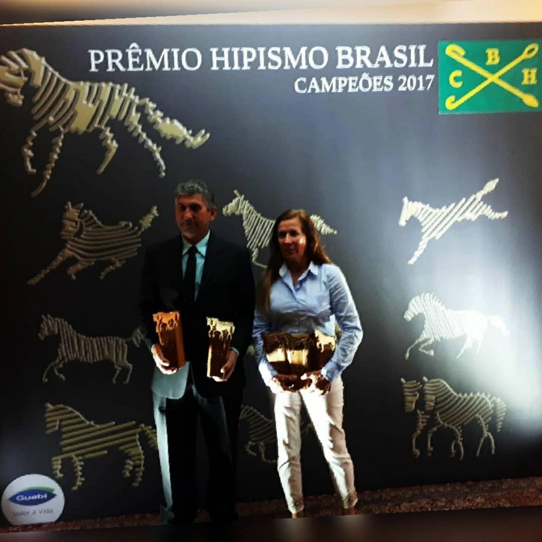 Antônio Souza & PIa Aragão no Premio Hispimo Brasil 2017. Foto: Bruno Alibrando
