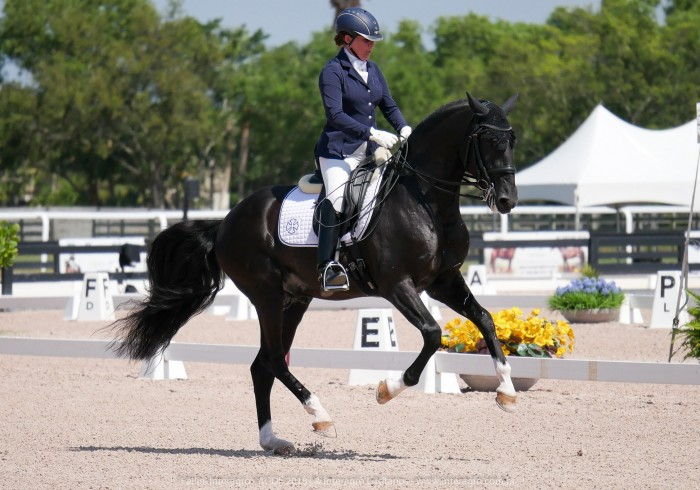 Fellini Interagro & Pia Aragão | Adequan Global Dressage Festival/ Foto: Interagro Lusitanos