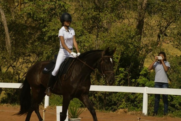 Maria Eduarda Soares & Hurricane Interagro. Foto: Pegasus Equitação/MG
