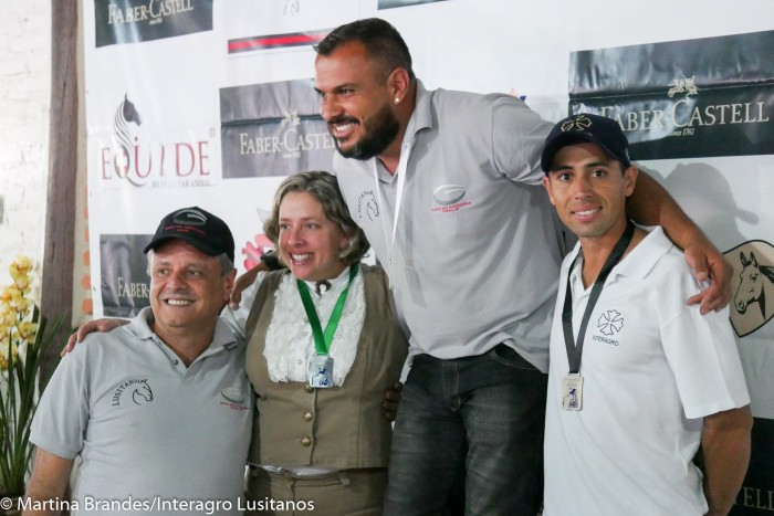 Edmar Martins de Brito, 3o lugar com Incrivel Interagro