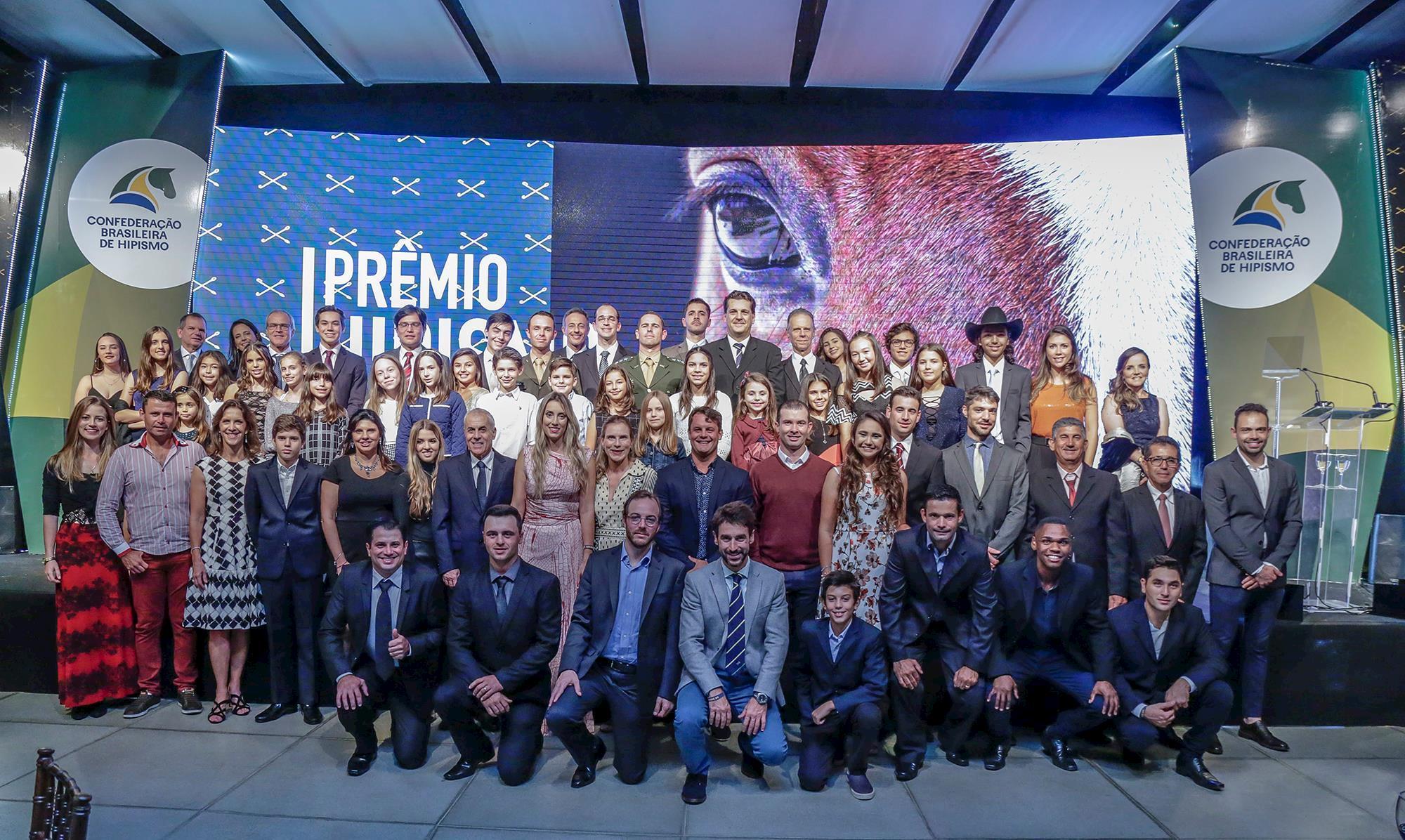 Campeões do Ranking e homenageados/Foto Marcelo Pereira