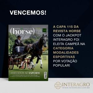 Jackpot Interagro & Antonio Souza