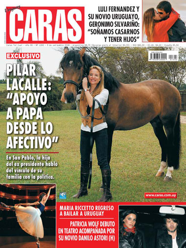 Tufao Interagro na Capa da Revista Caras do Uruguay
