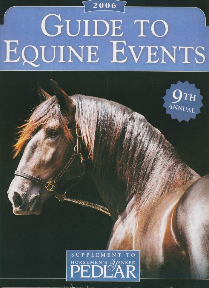 Xolaio Interagro/Johnny Duarte na Capa do Guide to equine events