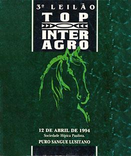 1994 - III Leilão Top Interagro