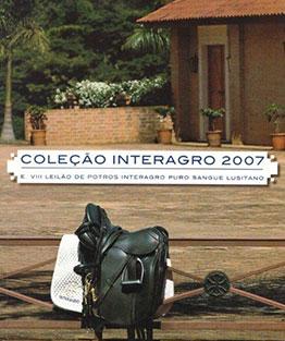 2007 - VIII Leilão de Potros & Leilão Coleção Interagro