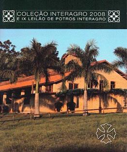 2008 - IX Leilão de Potros & Leilão Coleção Interagro